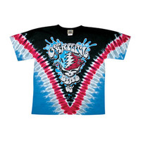Grateful Dead Men's  Splash Your Face Tie Dye T-shirt Multi