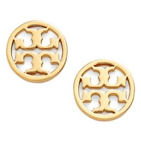 Tory Burch Circle Logo Stud Earrings | Nordstrom