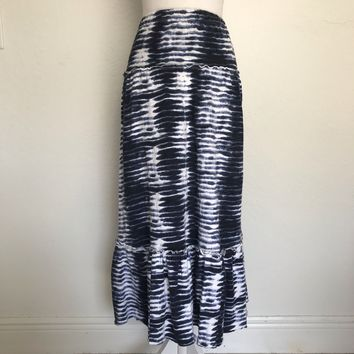 TOMMY HILFIGER Women's Plus Size XL Tye Die Maxi  Skirt