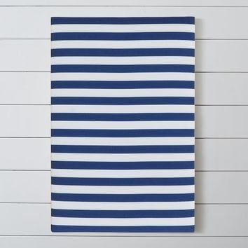 Stripe Pin-It Pinboard, Navy