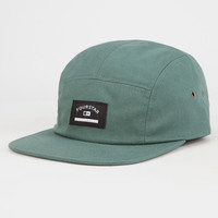 Fourstar Camarillo Mens 5 Panel Hat Green One Size For Men 27021150001