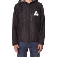 - AGGY TECH JACKET BY PALACE IN BLACK