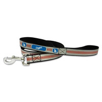 Los Angeles Dodgers Reflective Nylon Dog Leash Size Large