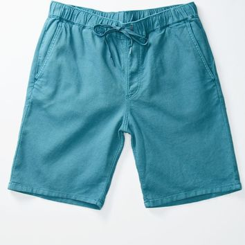 Bullhead Denim Co. Solid Jogger Shorts - Mens Shorts - Blue
