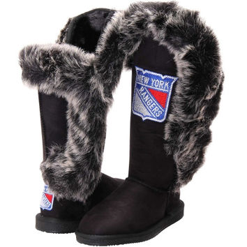 New York Rangers Cuce Shoes Women's Victorious Boots - Black