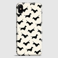 Dachshund Weiner Dog iPhone X Case