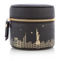 New York Skyline West 57th Travel Jewelry Box