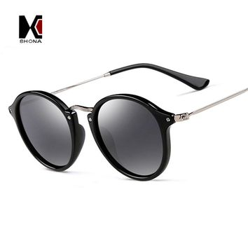 SHAUNA Summer Style Retro Round Sunglasses Women Brand Designer Fashion Men Circling Sun Glasses UV400
