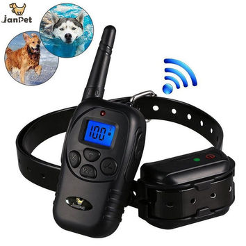 Waterproof Remote 300M Dog Training Shocking Collar