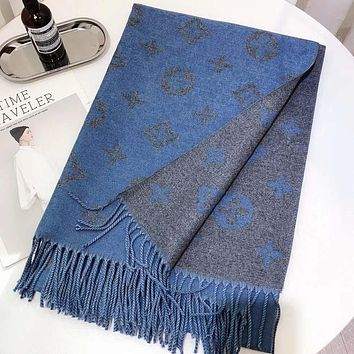 Perfect Louis Vuitton LV  Women Wool Scarf Shawl Scar