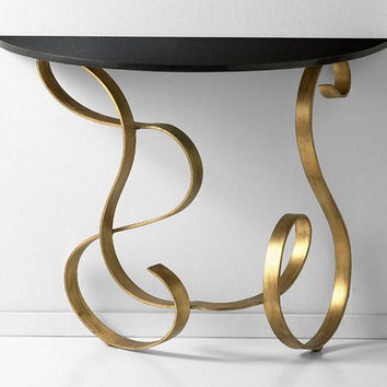 Cyan Design Ribbon Console Table - 03077