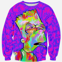 Stoned Bart Long Sleeve Sweatshirt