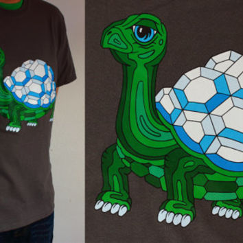 DIAMONDBACK TERRAPIN T-SHIRT!!! Vibrant Turtle on 100% Cotton Tee!