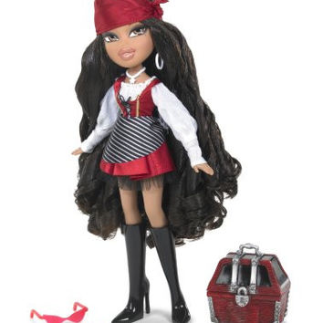Bratz Passion for Self-Expression Costume Party Series - Yasmin as Pretty Pirate with Treasure Chest and Accessories