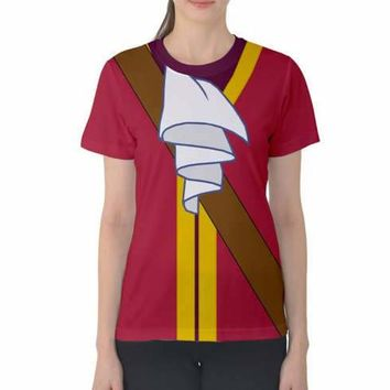 Women's Captain Hook Peter Pan Inspired ATHLETIC Shirt