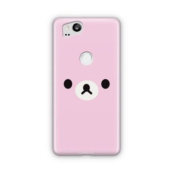 Cute Pink Bear Google Pixel 3 XL Case | Casefantasy