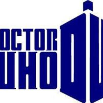 Doctor Who Gallifrey Vinyl Decal Sticker for car Wall Laptop