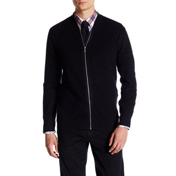 Ben Sherman - The Knitted Lightweight Mens Bomber Jacket