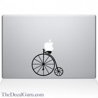 Vintage Bicycle Macbook Decal