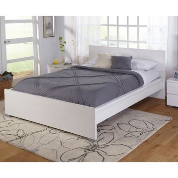 Simple Living Zuri High Gloss Queen Bed - Free Shipping Today - Overstock.com - 18534693 - Mobile