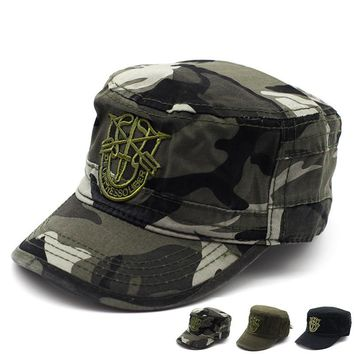 New Arrow Camo Patrol Army Cadet Caps Top BDU Combat Baseball Flat Hats Man Black Camouflage Hunting Fatique Ranger Hat