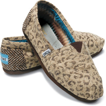 NATURAL SNOW LEOPARD WOMEN'S VEGAN CLASSICS