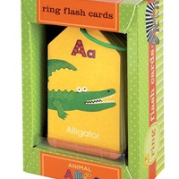 Toddler 'Animals ABC' Flash Cards (Set of 26)