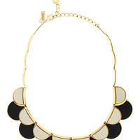 Kate Spade Sweetheart Scallops Necklace Neutral Multi ONE