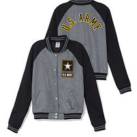Army Varsity Jacket - PINK - Victoria's Secret