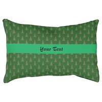 Seamless pattern with Christmas trees Small Dog Bed