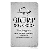 Big Grump Notebook in Cloudy Grey