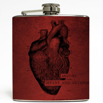 Heart by Cognitive Surplus - Anatomy Flask