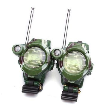 2PCS Children Toy Walkie Talkie Watches