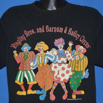 90s Ringling Bros And Barnum & Bailey t-shirt Large