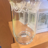 Disney Parks Glass Home Candle Holder New