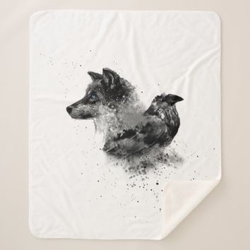 Wolf & Crow Sherpa Blanket