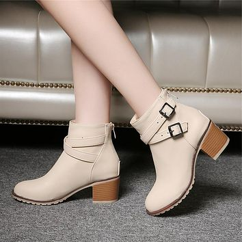 Snow Fashion Ankle Boots