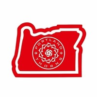Portland Thorns FC Thorns In Oregon Decal