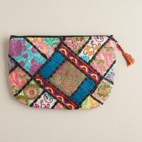 Sari Patchwork Pouch Wallet - World Market