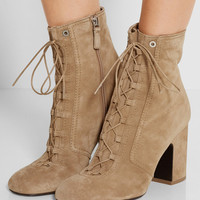 Laurence Dacade - Milly lace-up suede ankle boots