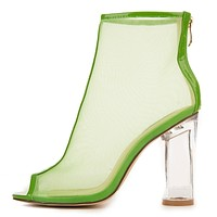 Women's Benny-2 Mid-Calf High Heel Booties