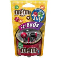 Red M&Ms? Earbuds