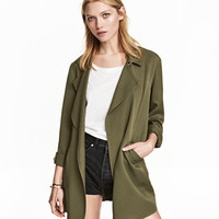 Lyocell Jacket - from H&M