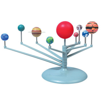 Hot Sell DIY The Solar System Nine planets Planetarium Model Kit Science Astronomy Project Early Education For Children