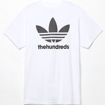 adidas x The Hundreds Mesh Trefoil T-Shirt at PacSun.com