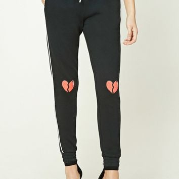 Broken Heart Graphic Sweatpants