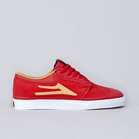 """Flatspot - Lakai X FTC """"The Sticks"""" Griffin Red / Gold Suede"""