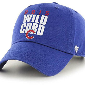8eabeae4fa6 Chicago Cubs 2015 Postseason Playoff Hat by  47 Brand