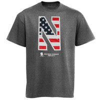 Under Armour Northwestern Wildcats Wounded Warrior Project Performance T-Shirt - Charcoal