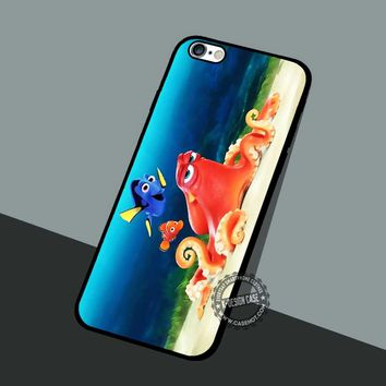 Dory Disney Wallpaper - iPhone 7 6 5 SE Cases & Covers #cartoon #animated #FindingNemo